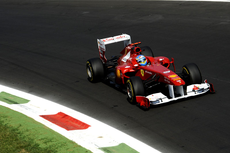 Fernando Alonso em Monza