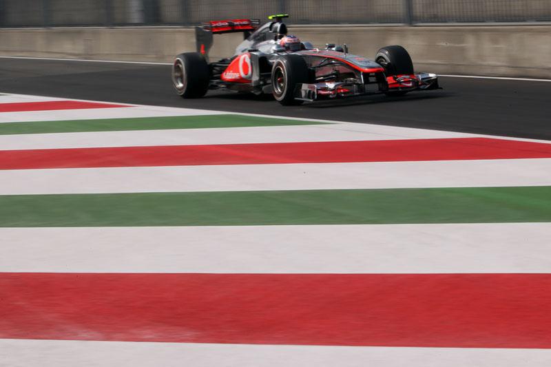Button foi o terceiro mais rápido na classificação