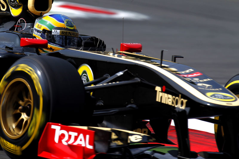 Bruno Senna: sorte e velocidade renderam primeiros pontos