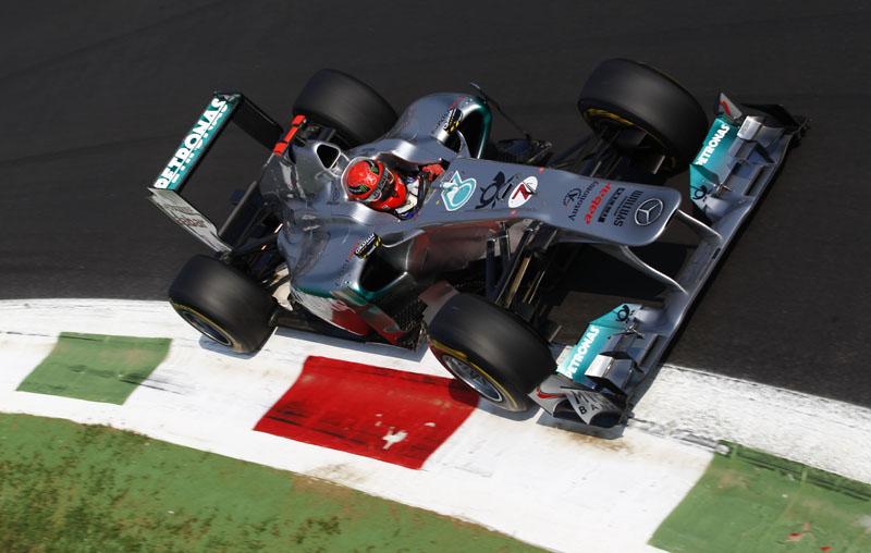 Schumacher disse que se divertiu em Monza