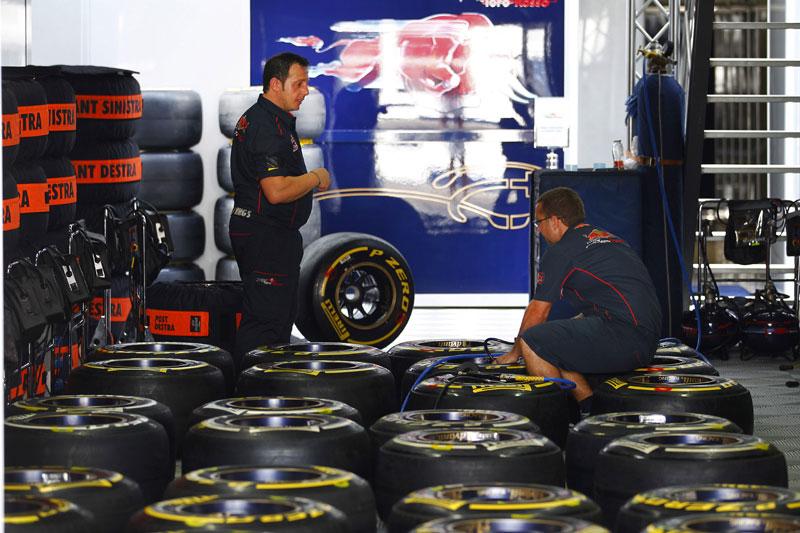 Pneus Pirelli da Toro Rosso