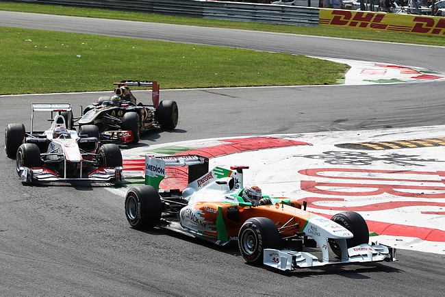 Adrian Sutil em Monza