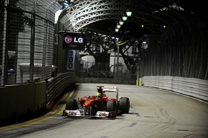 Felipe Massa em Cingapura