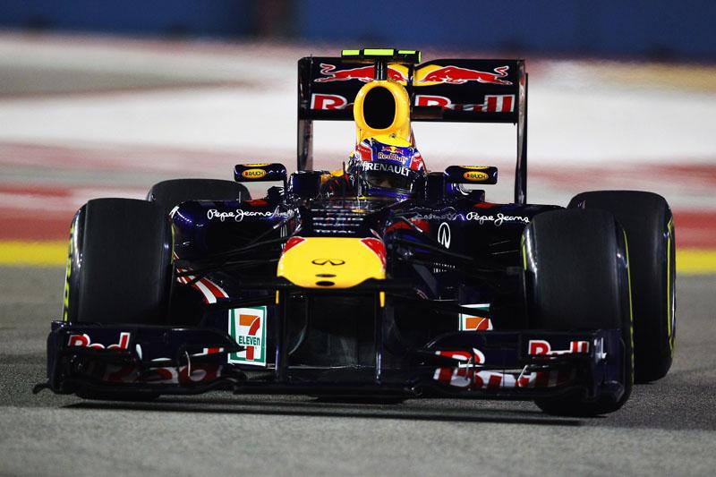 Webber leva baile de Vettel: diferença é de 127 pontos