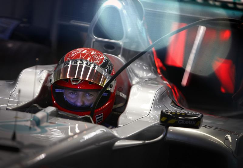 Michael Schumacher em Cingapura