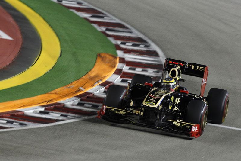 Senna terminou o GP de Cingapura em 15º