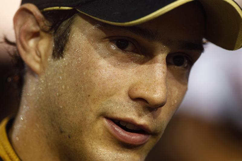 Bruno Senna: suando a camisa e agradando na Renault