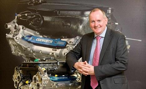 Mark Gallagher, da Cosworth