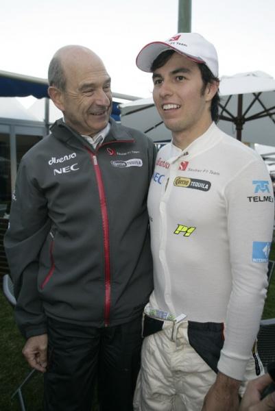 Perez agradou o chefe Peter Sauber