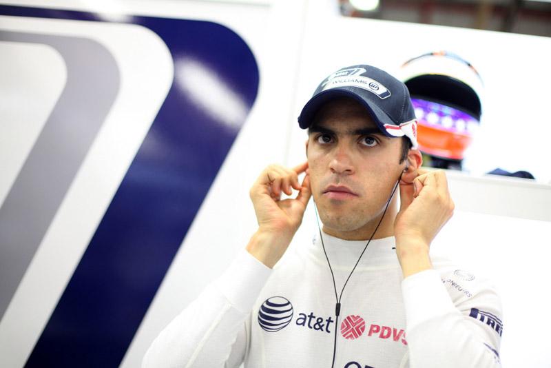 A Williams parece feliz com os petrodólares de Maldonado