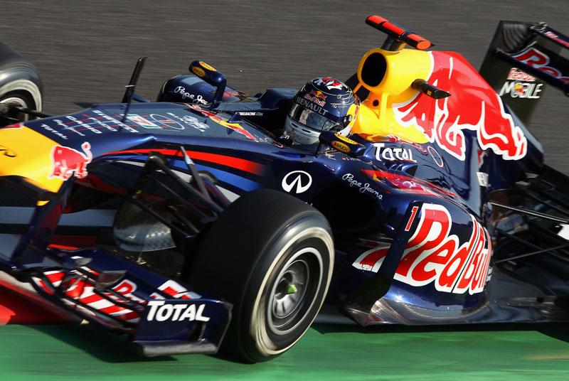 Sebastian Vettel, o mais novo campeão da F-1