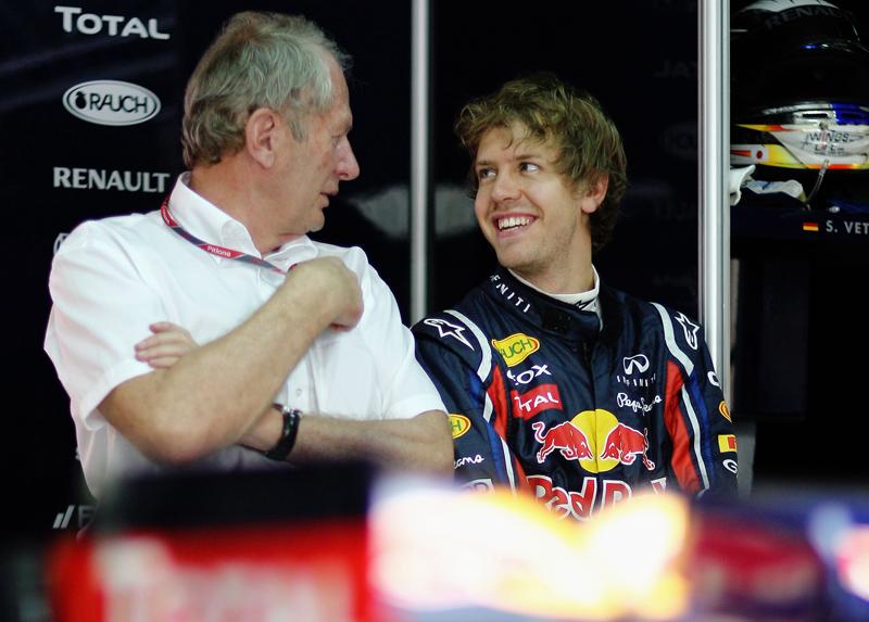 Marko e Vettel