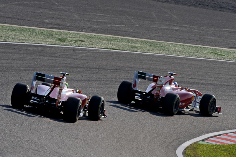Alonso e Massa em Suzuka