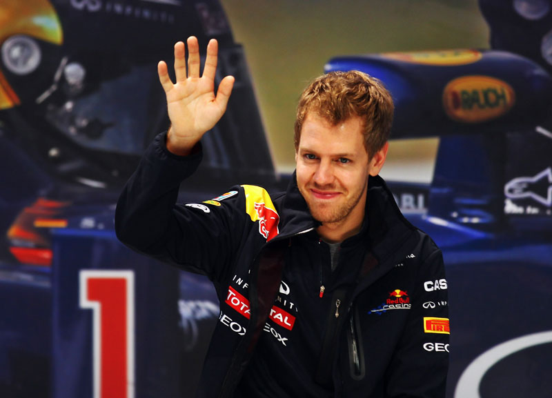 Vettel comemora bicampeonato no Japão
