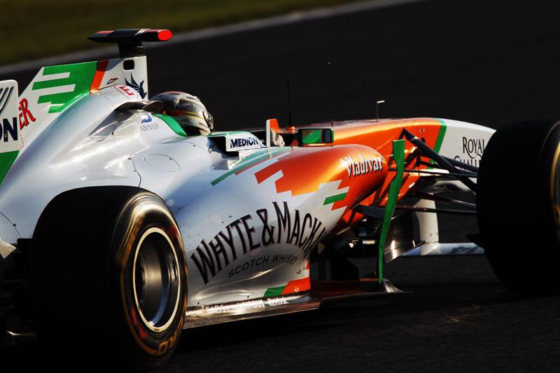 A Force India ocupa a sexta colocação no Mundial de Construtores
