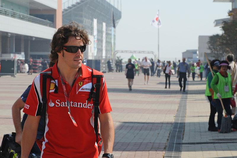 Alonso espera continuar como único vencedor na Coreia do Sul