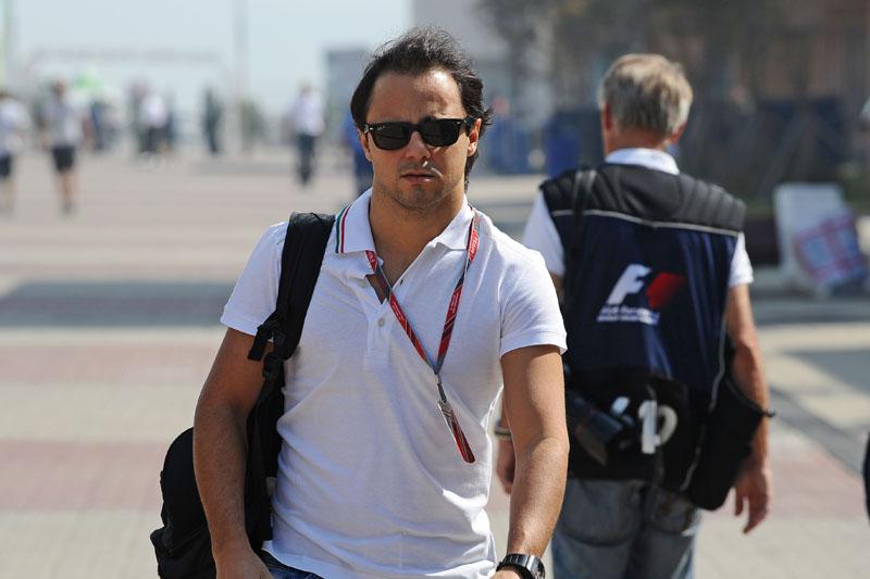 Massa chega ao circuito de Yeongam