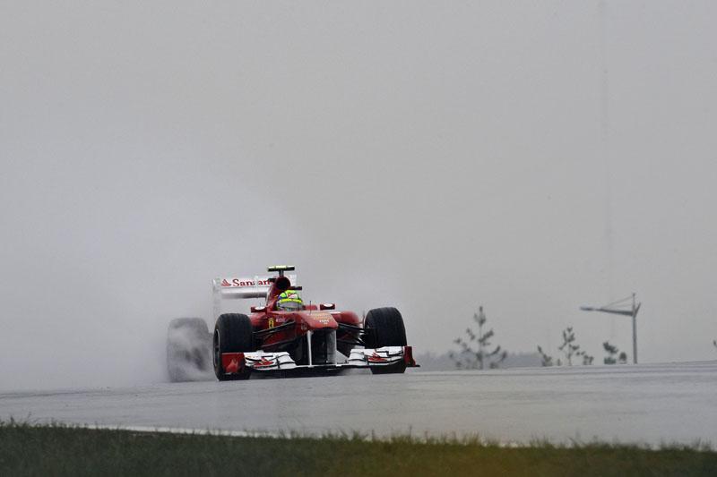 Massa foi o sétimo na sexta-feira coreana