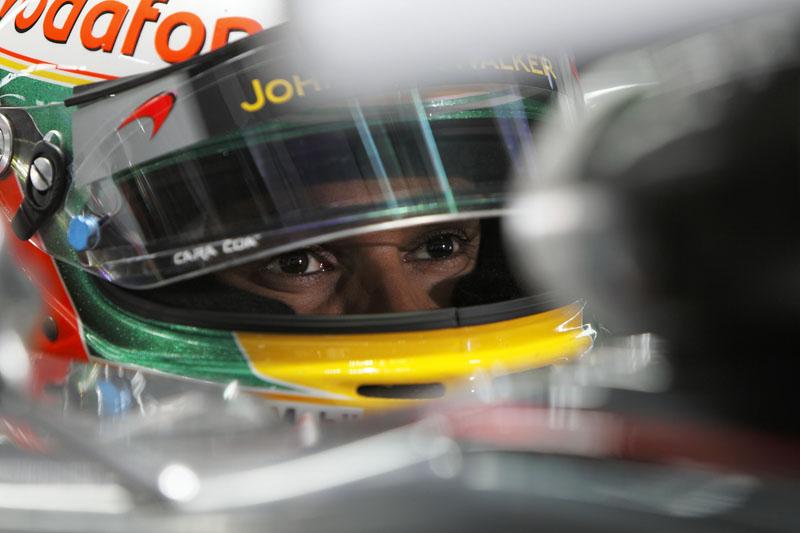 Hamilton fez sua primeira pole desde o GP do Canadá de 2010