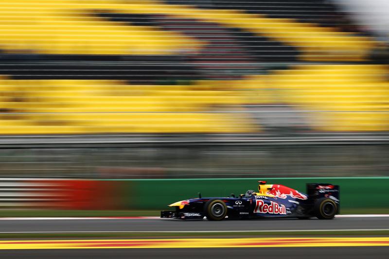 Vettel larga em segundo pela terceira vez no ano