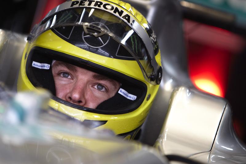 Rosberg larga em sétimo na Coreia