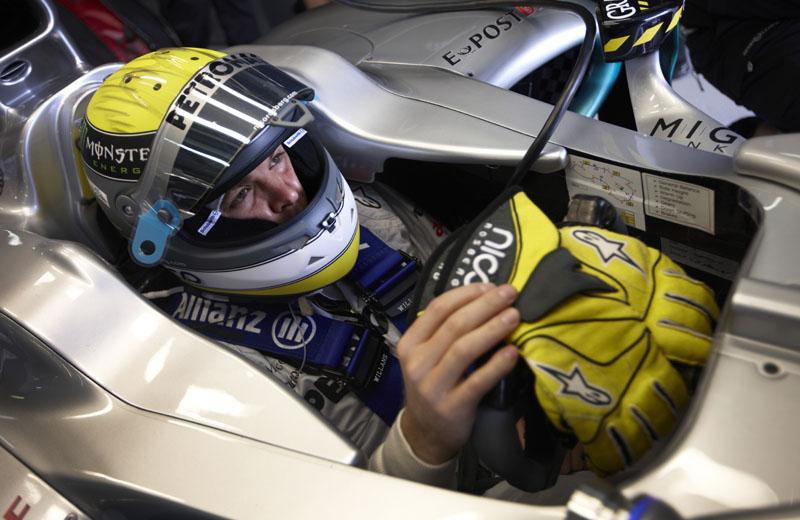 Rosberg repetiu o ano passado e andou na frente de Schumacher na Austrália