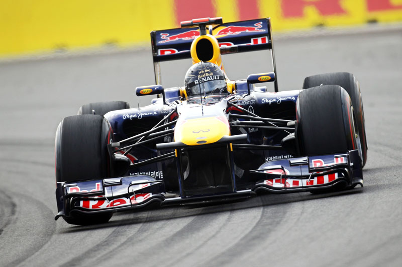 Vettel foi dominante na Coreia