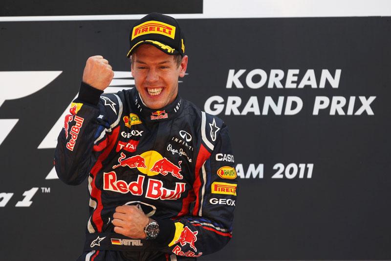 Vettel venceu a décima do ano