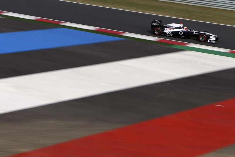 Barrichello foi o 12º na Coreia