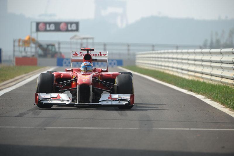 Alonso foi o quinto colocado na Coreia