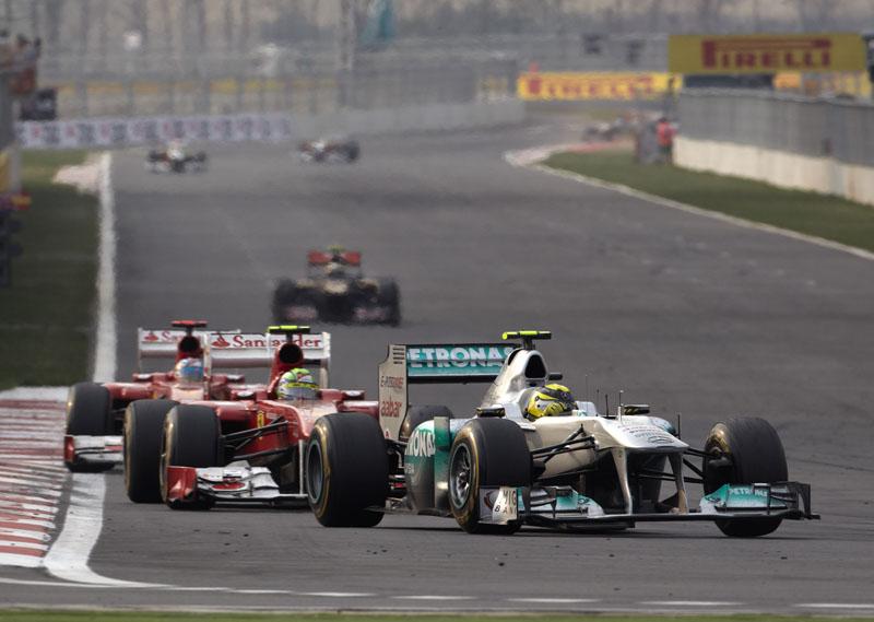 A Mercedes mostrou evolução na Coreia