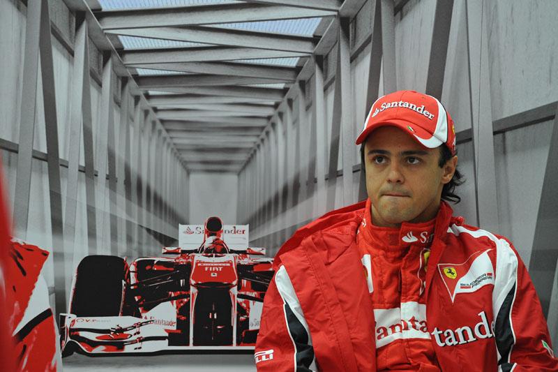 Massa destaca que tem melhorado seu ritmo após a pausa de agosto