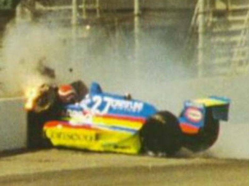 Acidente de Nelson Piquet em 1992
