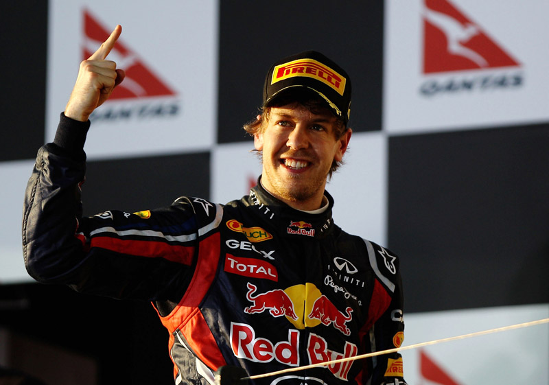 Vettel é o líder do campeonato após a vitória no GP da Austrália