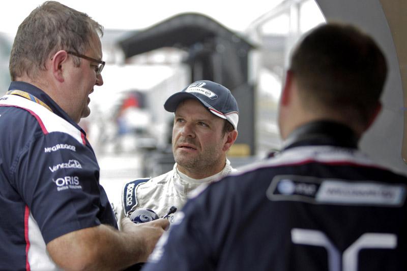 Barrichello estudou a pista no simulador