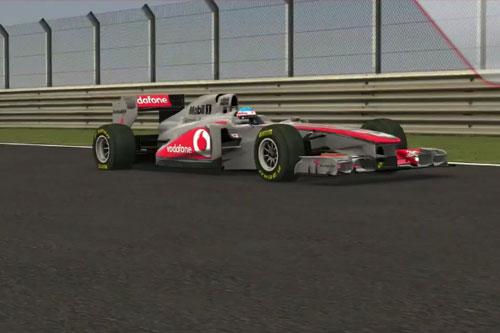 Simulador da McLaren