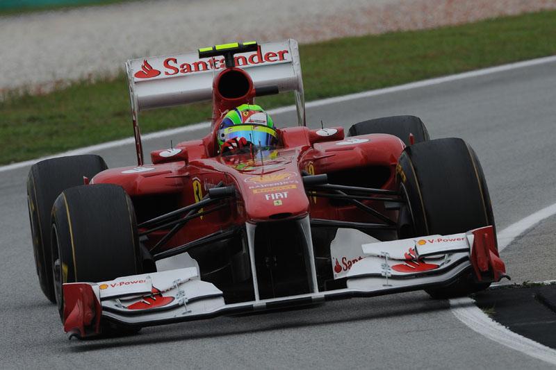 Massa foi o melhor no primeiro dia de treinos para o GP da Índia