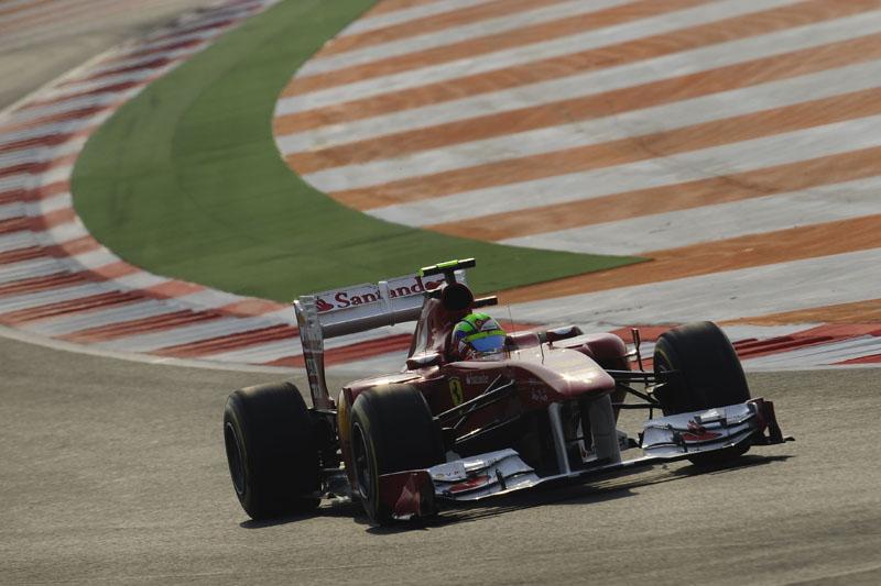 Massa abandonou o GP da Índia
