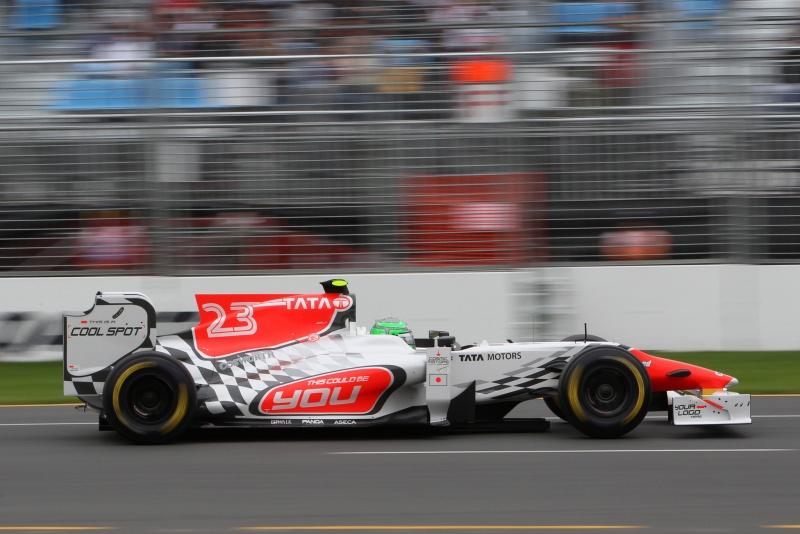 Vitantonio Liuzzi não conseguiu classificar o carro da Hispania em Melbourne