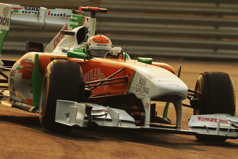 A Force India é a sexta colocada no Mundial de Construtores