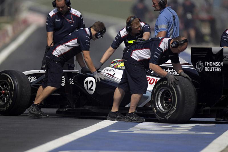 Último ponto da Williams foi marcado por Maldonado