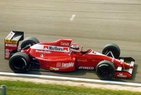 Pirro no GP de San Marino de 1990