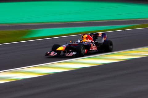 Vettel em Interlagos