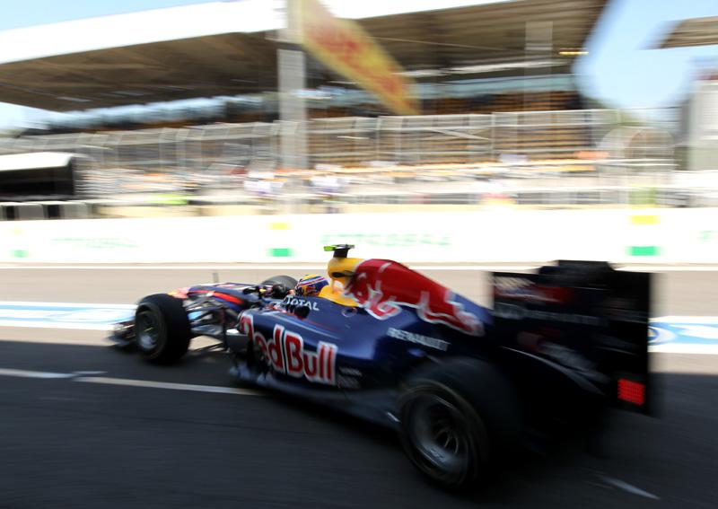 Webber em Interlagos