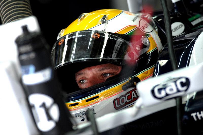 Barrichello em Internagos Foto: Miguel Costa Junior