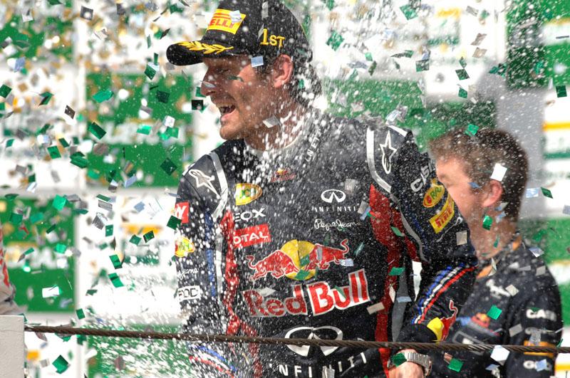 Webber e Vettel em Interlagos
