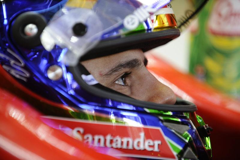 Massa durante final de semana do GP Brasil