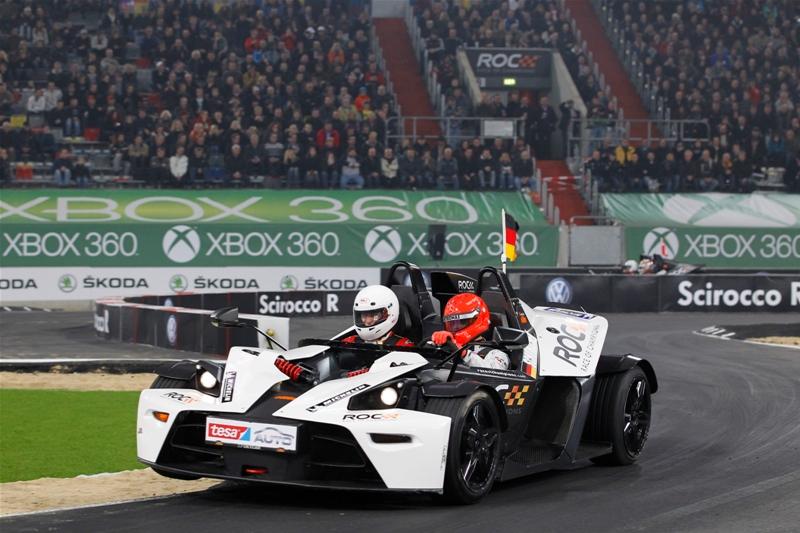 Schumacher na final por equipes