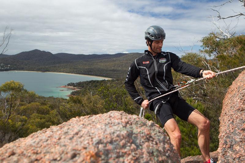 Webber no Desafio da Tasmânia