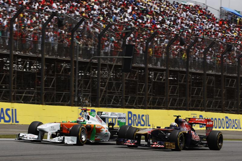 Force India e Toro Rosso têm vagas cobiçadas